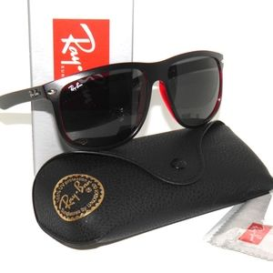 Ray Ban Sunglasses 4147 617187 60 Black on Red